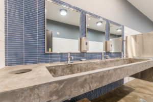 NEW! Commercial sink and countertop created for SweetWater Brewing Company's Taproom in Atlanta.